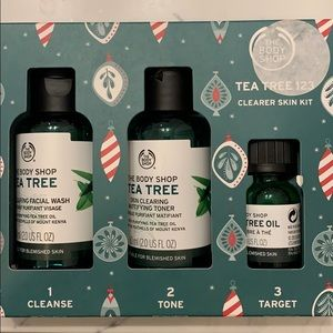 The Body Shop Tea Tree 123 Clearer Skin Kit